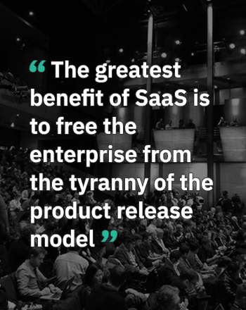 The greatest contribution of SaaS