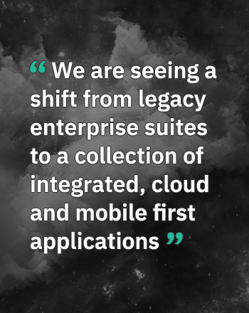 Enterprise software and the emerging cloud landscape