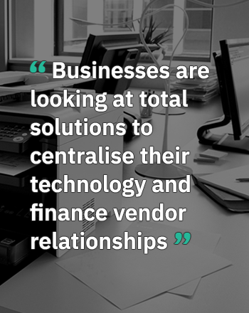 A total solutions approach to office technology and equipment finance